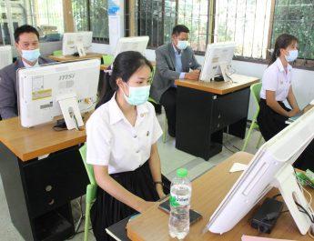 วิทยากรในการอบรมปฏิบัติการทบทวนการใช้ระบบสนับสนุนการบริหารจัดการสถานศึกษา SMSS และการสร้างเว็บไซต์ด้วย google site